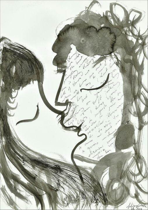 The Kiss - Felizia Bade ArtGallery