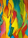 16 by 20 colorful abstract painting