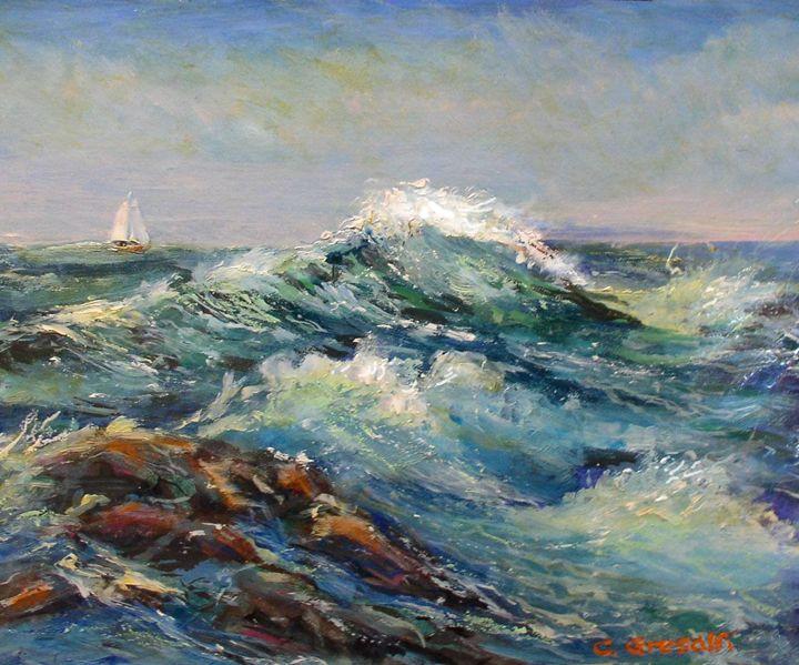 Thunder Wave by Charles Gresalfi - Charles Gresalfi Fine Art