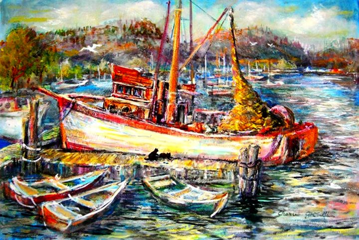 Bodega Bay, California #1 - Charles Gresalfi Fine Art