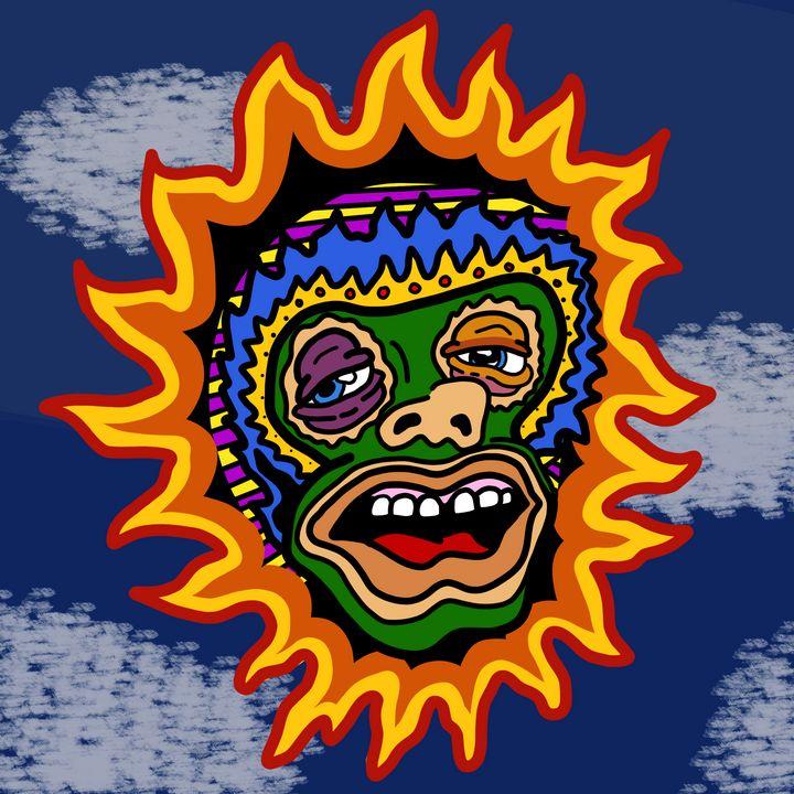 """EL SOL BORRACHO"" (THE DRUNK SUN) - UNORTHOFOX"