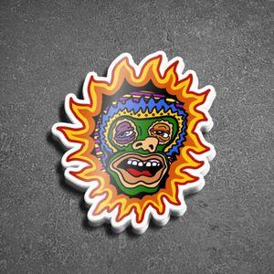 """""""El SOL BORRACHO"""" Sticker"""