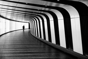 Futuristic Walkway - Linda Wisdom