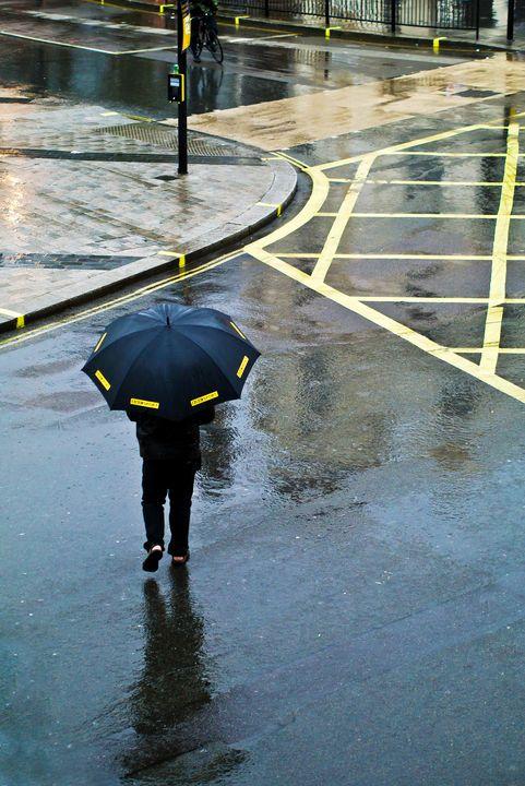 Rainy Day Yellow - Linda Wisdom