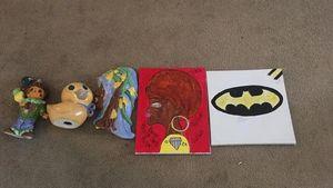 Canvas and ceramics - Queen Yana