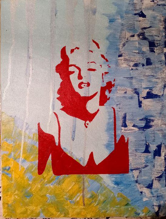 Marilyn In Acrylics - indichawla
