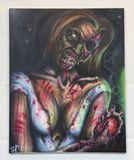 24 x 30 airbrush painting