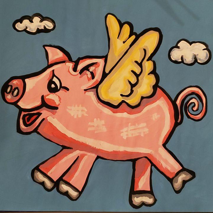 Flying Pig - Justrita