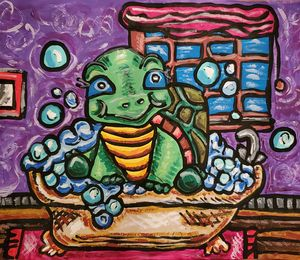 Turtle in a Tub - Justrita