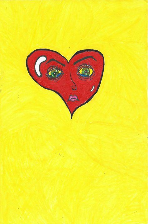 crying heart - Sara Shahim