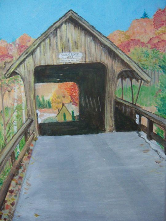 Squam River Bridge - Lindas Whimsy