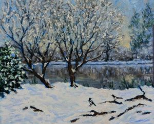 two for joy...snow on the river - colin ross jack