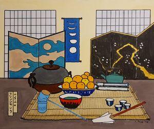 still life@ japanese tea ceremony