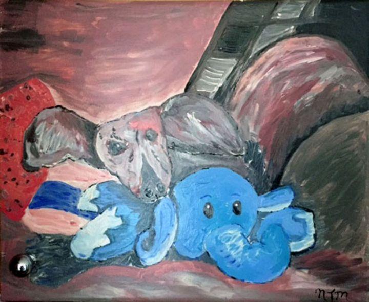 WINNIE AND ELEPHANT - Neil Travis Mayes