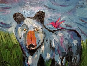 Blue Bear Humming
