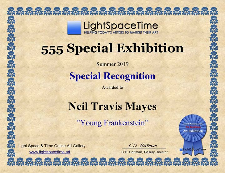 Young Frankenstein recognition - Neil Travis Mayes