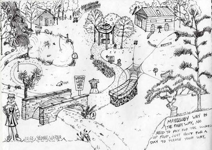 College Sketch book - Neil Travis Mayes
