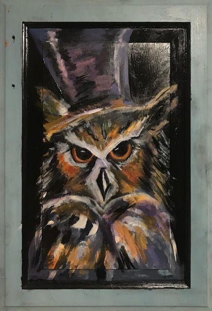 Bad ass Owl - Neil Travis Mayes