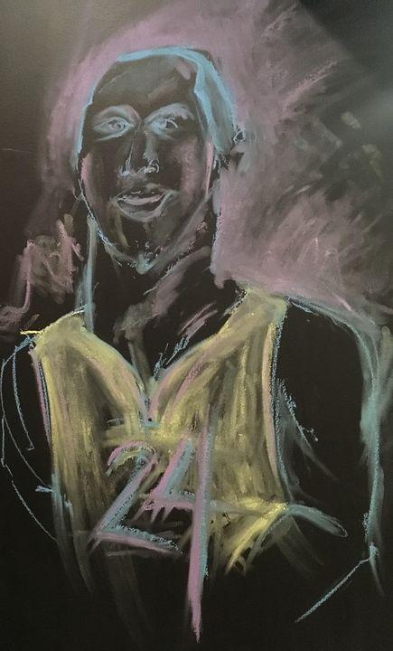 Kobe Chalkboard - Neil Travis Mayes