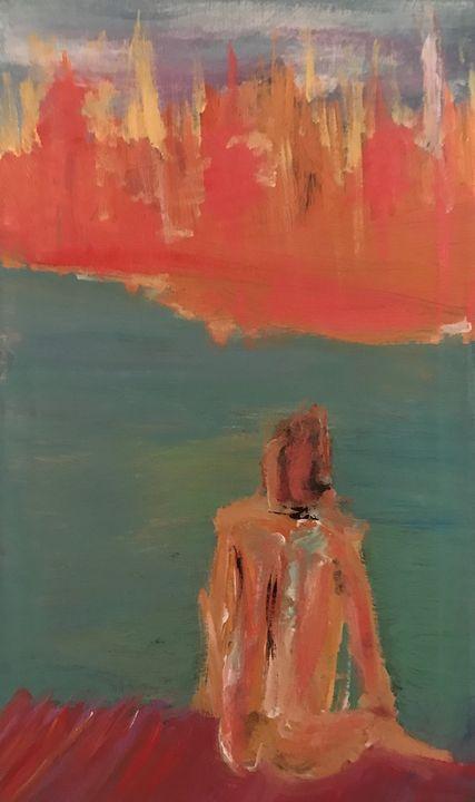 man on dock - Neil Travis Mayes