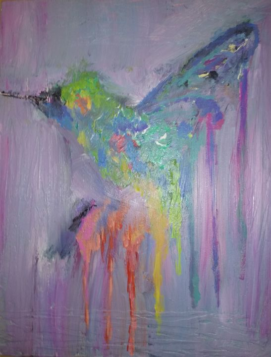 Mums Hummingbird - Neil Travis Mayes