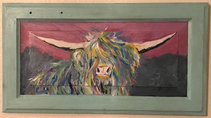 highlander cow 2 - Neil Travis Mayes