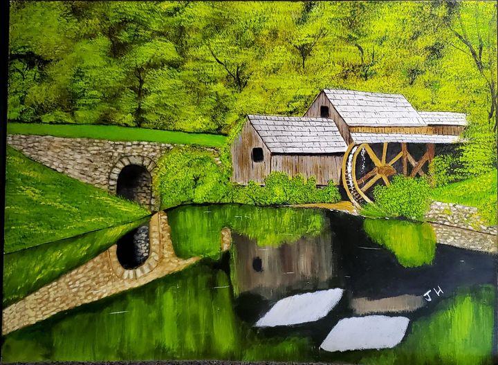 Grist mill - HRIBER ART