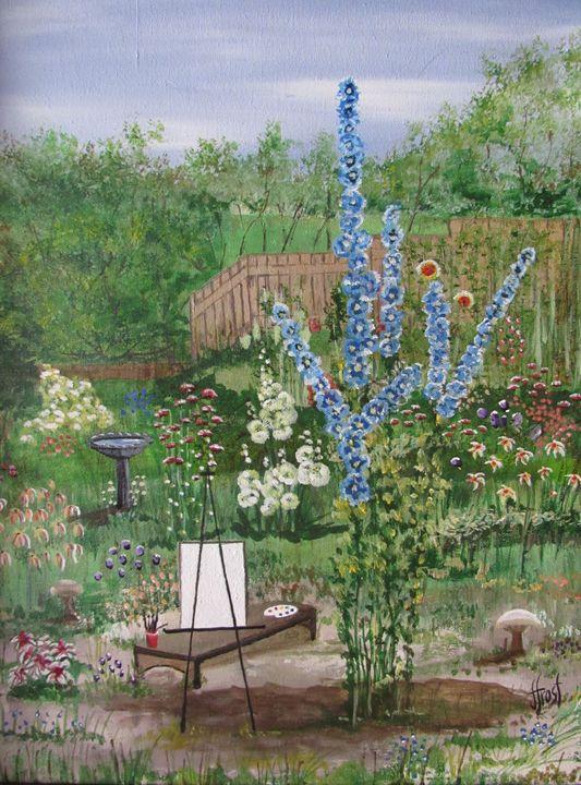 Karen's Garden - Jan Holmes Frost