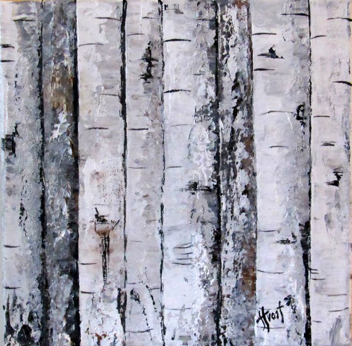 Birch Square 1 - Jan Holmes Frost