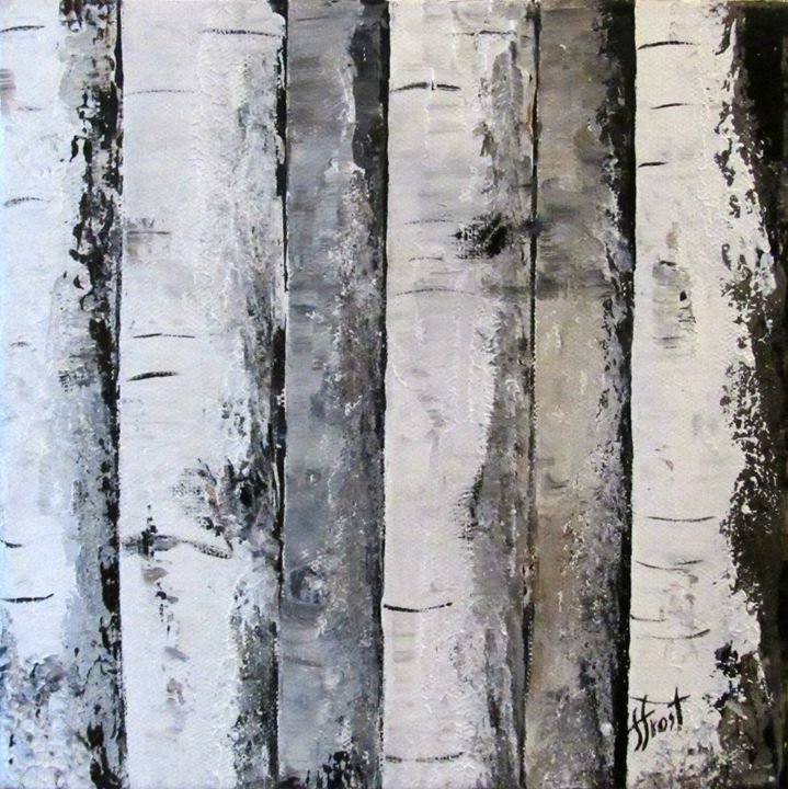 Birch Square 2 - Jan Holmes Frost