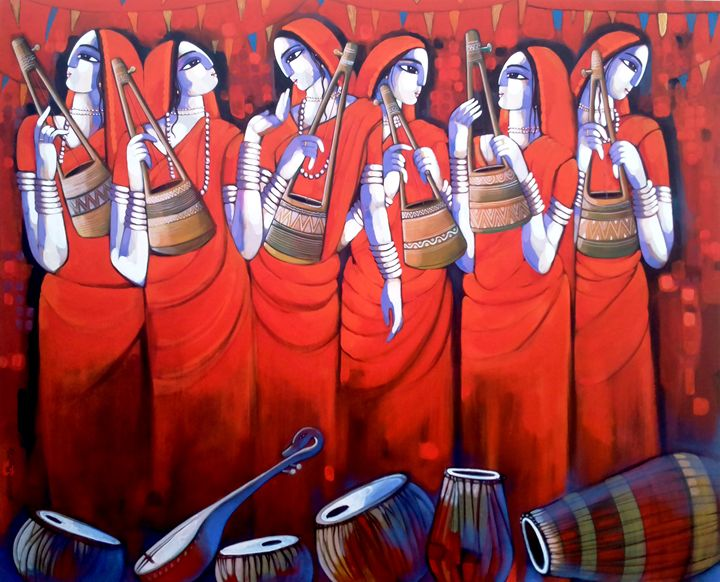 BENGALI TUNE - sekhar Roy's art