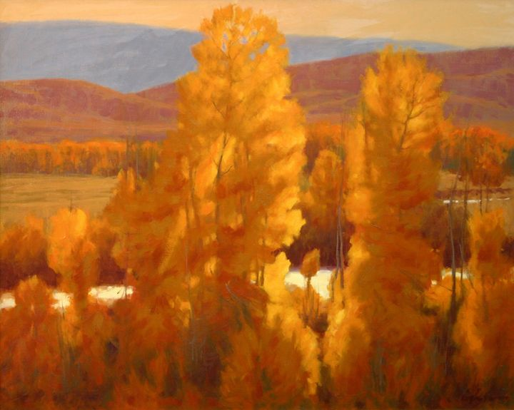 Fall Aspens - DoyleShaw