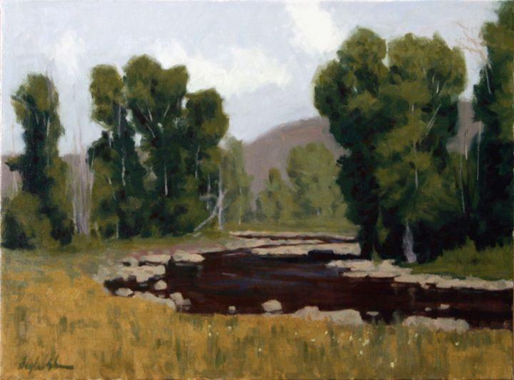 Kamas River Cottonwoods - DoyleShaw