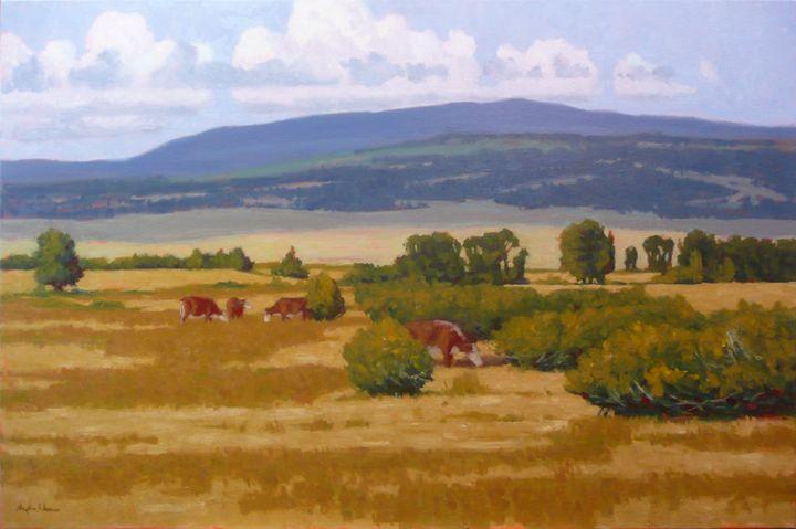Cows Among Bushy Willows - DoyleShaw
