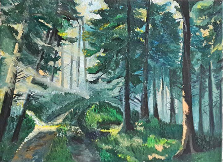 Forest. - AleksBabayanArt