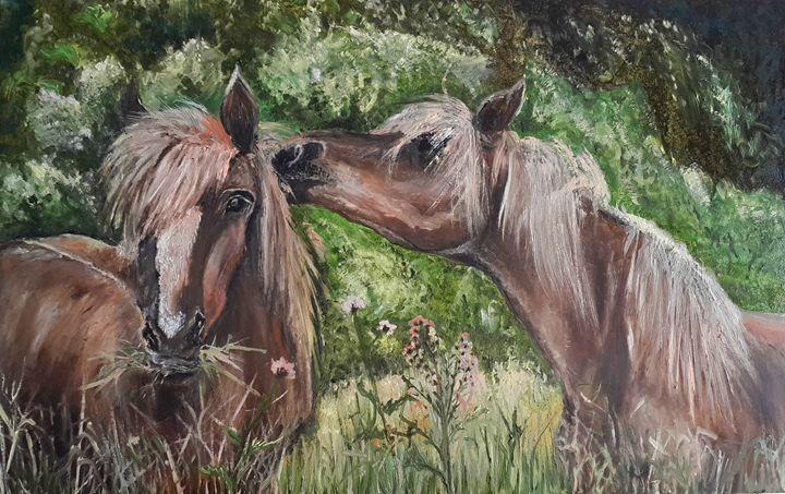 Horses.Love - AleksBabayanArt