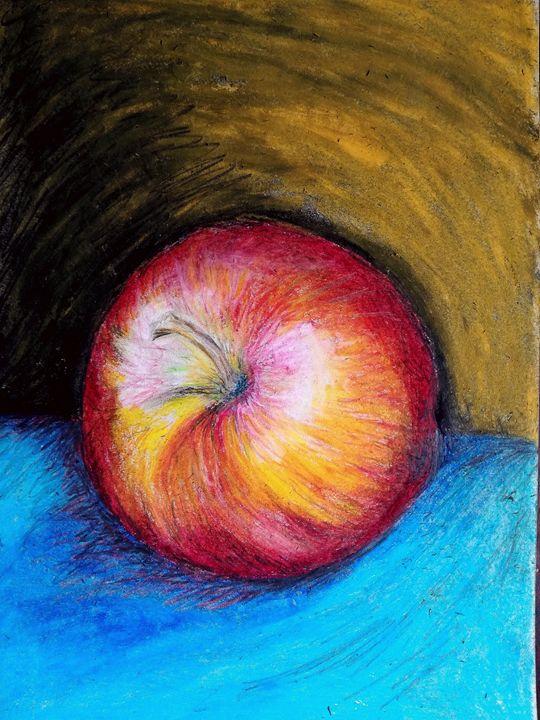 Still life, apple - Marelise Phillips