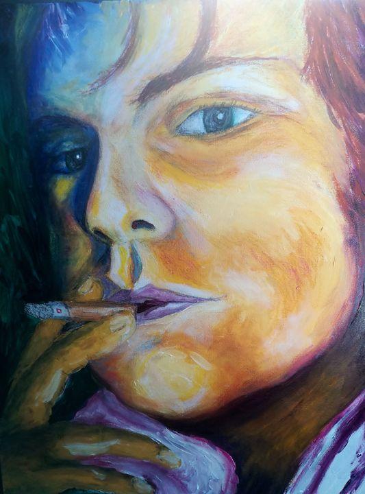 Self-portrait (sample) - Marelise Phillips