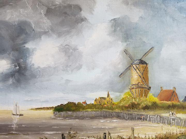Old windmill - Vlad Solomaha