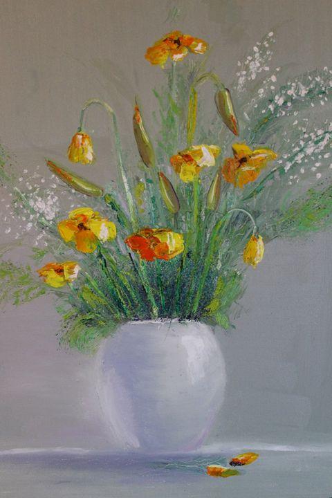 Yellow flowers - Vlad Solomaha