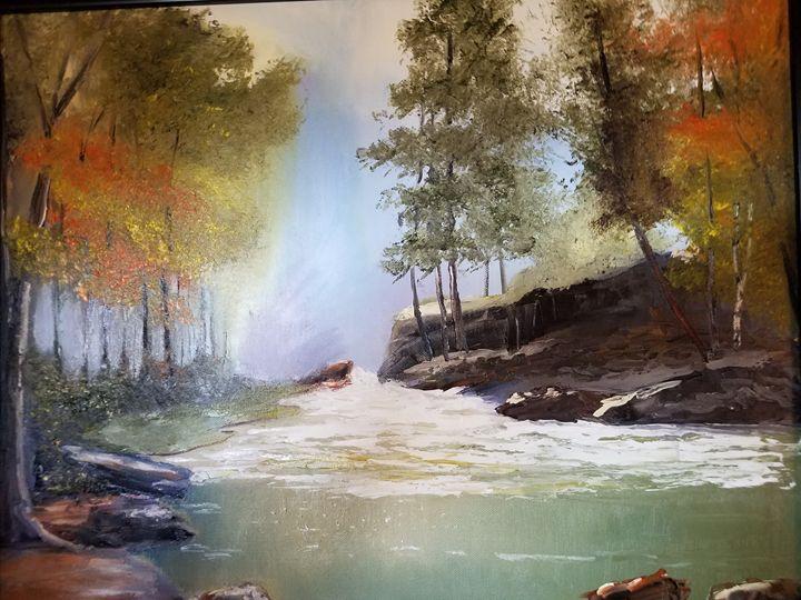 Forest river - Vlad Solomaha