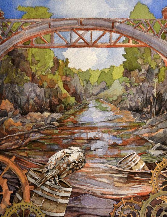 Owl's Journey - Michael Lawler Art
