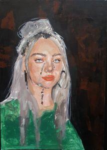 Billie Ellish portrait