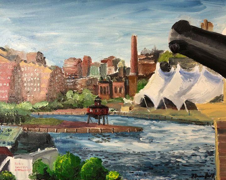 The Inner Harbor in Baltimore - Blandine Broomfield