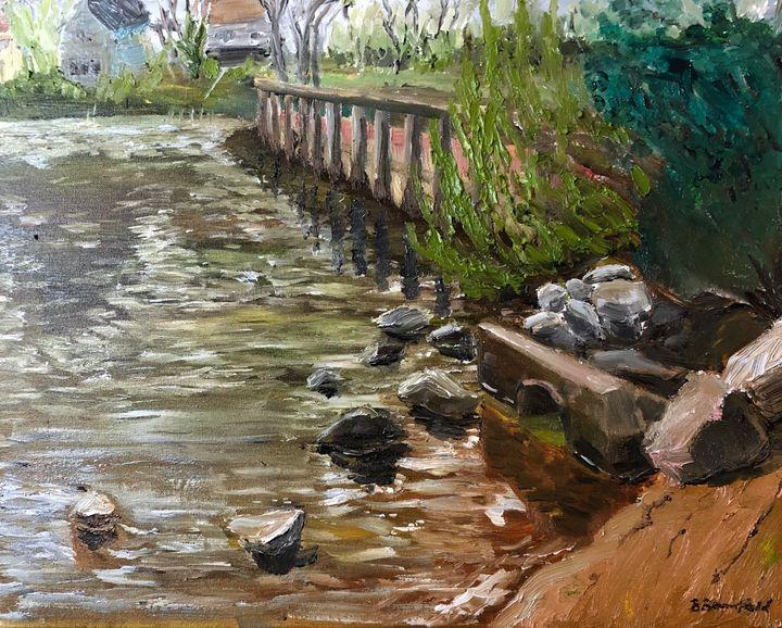 Green Haven Wharf - Blandine Broomfield