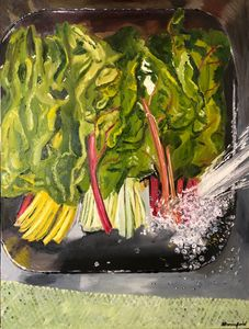 Chard in the Sink
