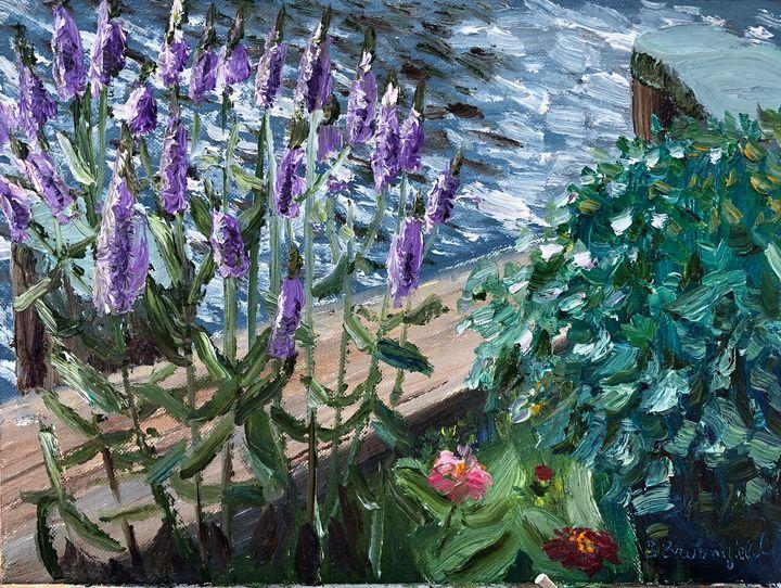 Veronica Flowers on Conduit Street - Blandine Broomfield