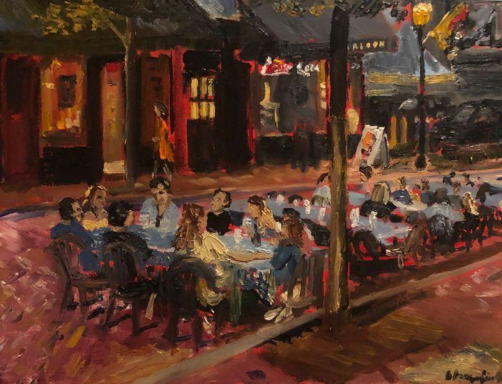 Street Dining - Blandine Broomfield