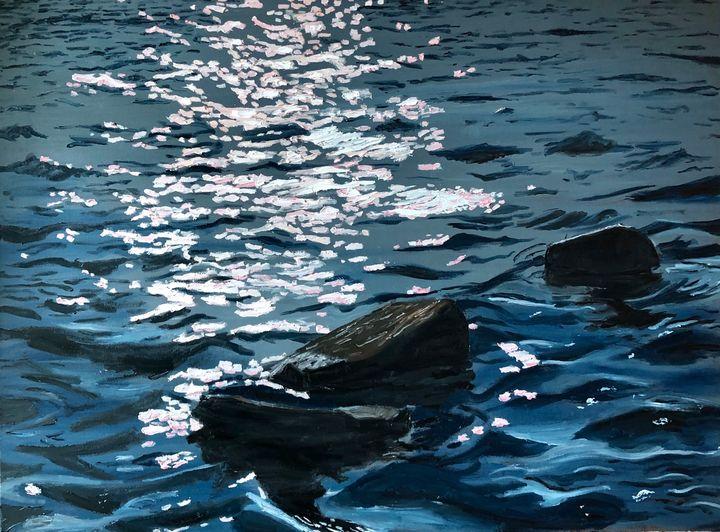 Green Haven Harbor Waters - Blandine Broomfield