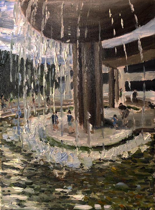 Columbia's Fountain - Blandine Broomfield